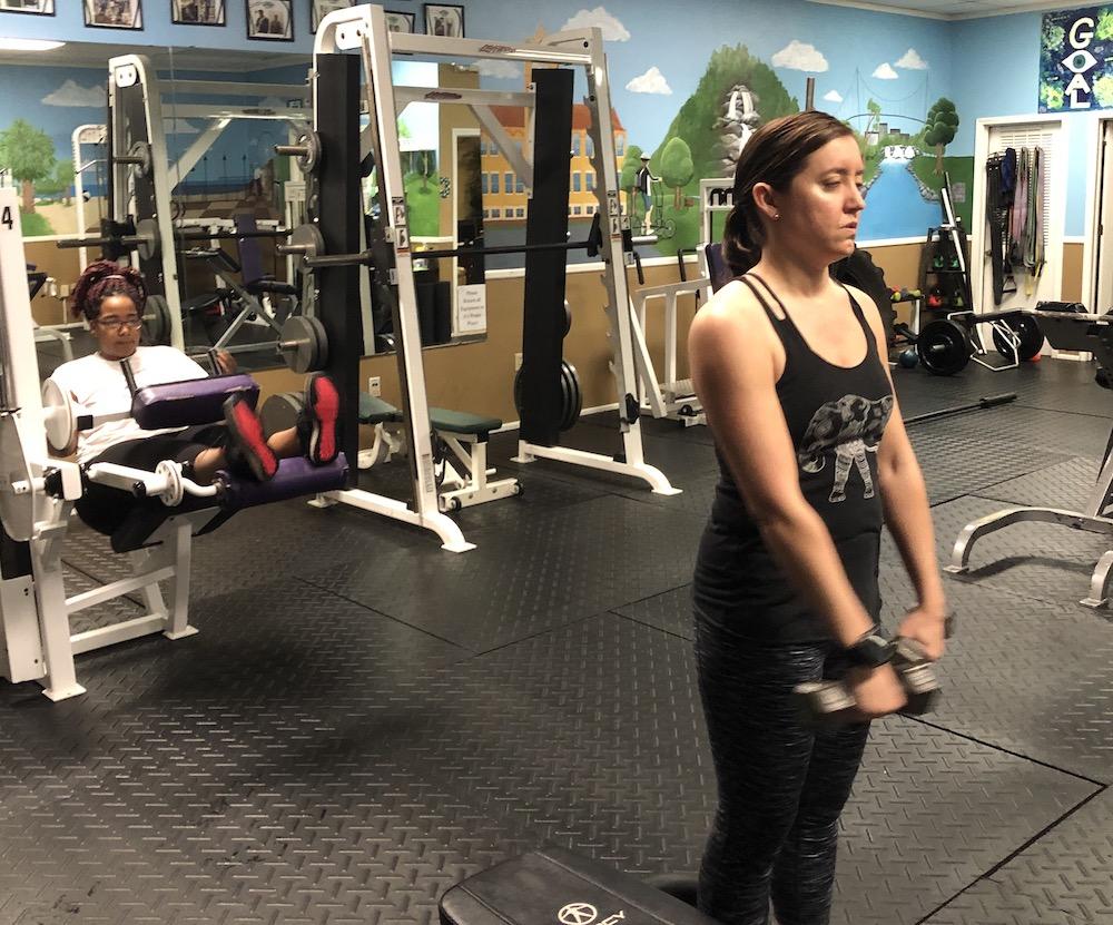 private gym anderson sc