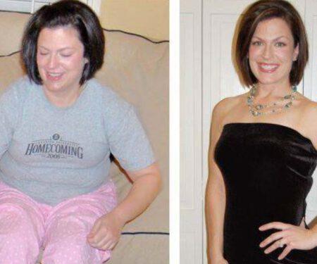Michelle P. Lost 45lbs!