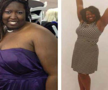 Dr. Sanethia T. Lost 63lbs!