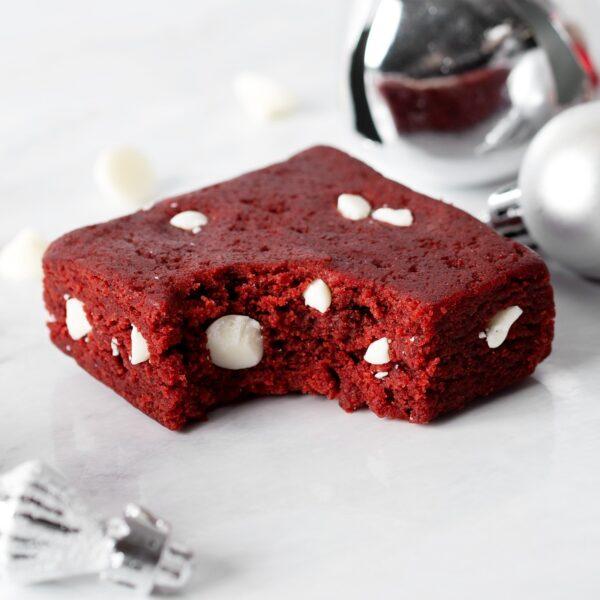 red velvet cake brownie
