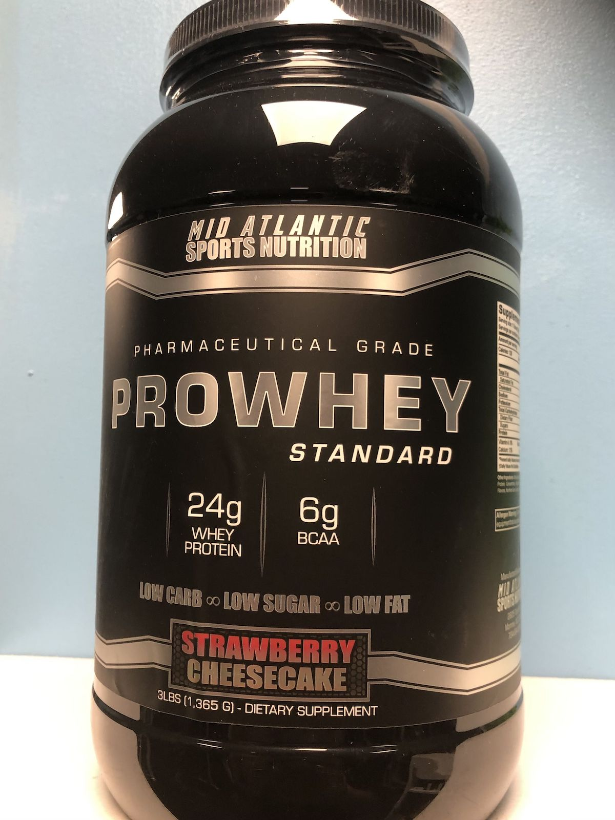 strawberry protein powder